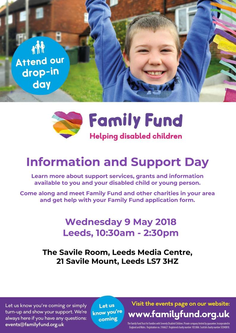 Information and Support Day, 9th May 2018