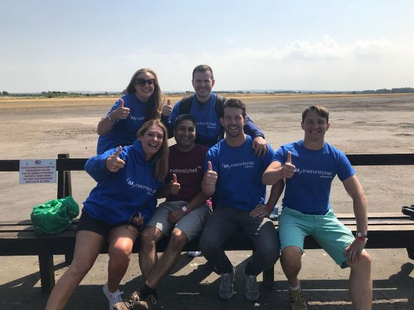 Leeds Law Firm Flying High In Charity Skydive