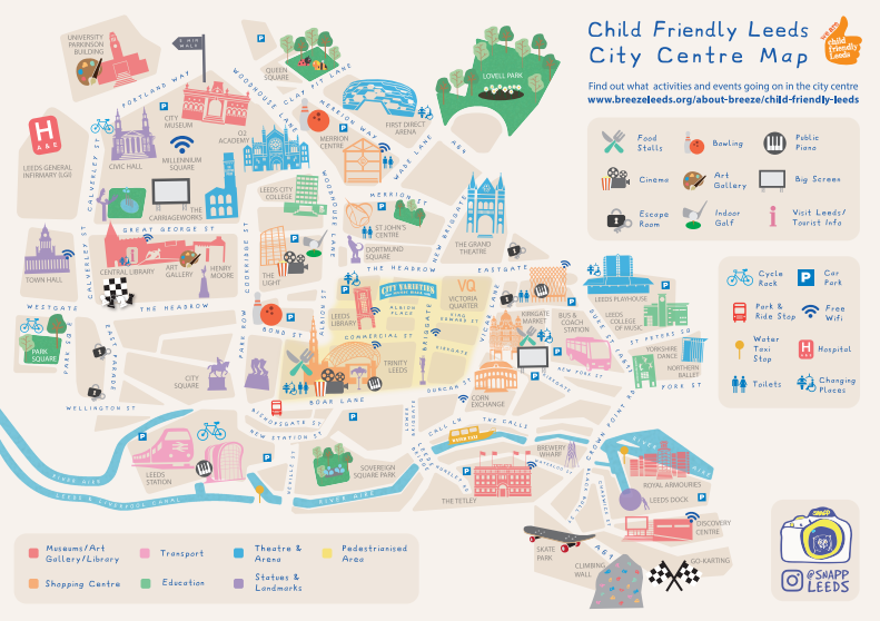 Check out Child Friendly Leeds City Centre Map